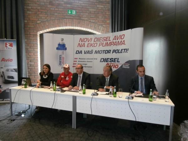 Detalj sa konferencije za štampu kompanije EKO Srbija