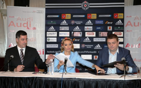 Slobodan Pešić, Snežana Filipović, Miloš Vazura (sleva na desno)