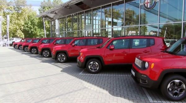 AK Kole - isporuka vozila jeep renegade