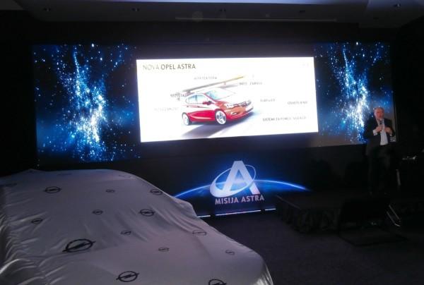 Detalj sa promocije nove Opel Astre